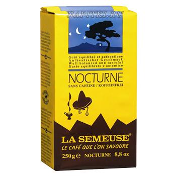 Кофе без кофеина La Semeuse Nocturne молотый 250 гр.