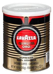 Кофе Lavazza Oro молотый 0.25 кг ж/банка.