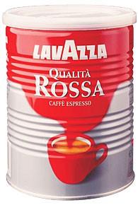 Кофе Lavazza Rossa молотый 0,25 кг ж/банка.