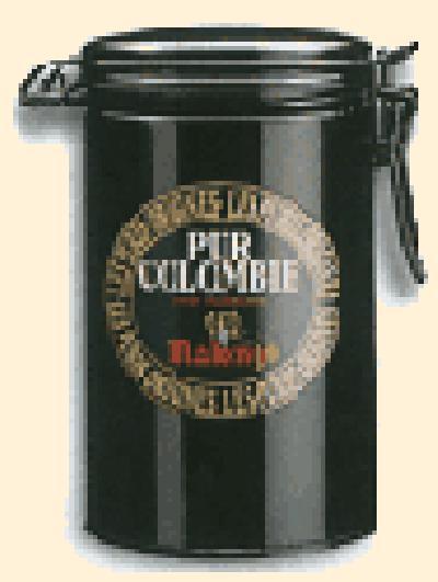 Кофе Malongo Колумбия Супремо молотый 0,25 кг (банка).