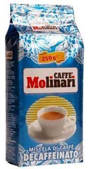 Кофе Molinari Decaffeinato молотый 0,25 кг.