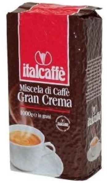 Кофе Italcaffe Gran Crema (зерно). Упаковка 1000гр.