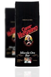 Кофе Vergnano Miscela Oro (100% Арабика) молотый 0,25 кг.