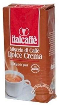 Кофе Italcaffe Dolce Crema (зерно). Упаковка 1000гр.