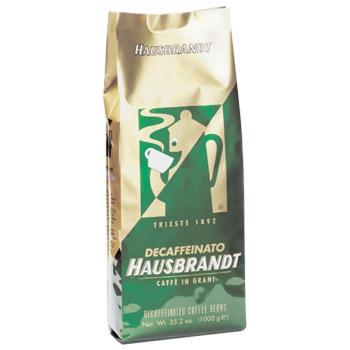 Кофе без кофеина HAUSBRANDT Decaffeinato ( Без кофеина ). Упаковка 500гр.