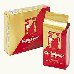 Кофе молотый Hausbrandt Rosso Упаковка 250гр.