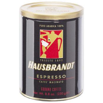 Кофе молотый Hausbrandt Espresso. Упаковка банка 250гр.