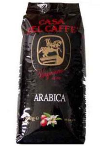 Кофе Casa Del Caffe Arabica (зерно). Упаковка 1000гр.