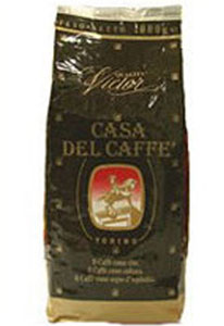 Кофе Casa Del Caffe Victor (зерно). Упаковка 1000гр.