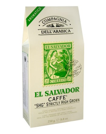 Compagnia Dell Arabica El Salvador SHG Strictly High Grown, молотый, 250 г., пакет.