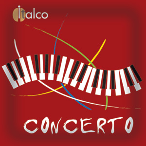 Italco Concerto, чалды 150 шт. х 7 г., 1050 г.
