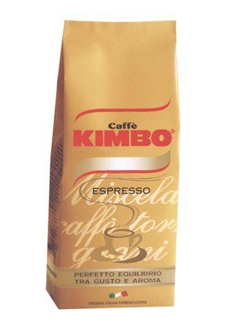 Kimbo Голд, зерно, 1000 г., пакет с клапаном.