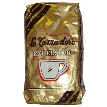 La Tazza d oro EXCELSIOR, зерно, 1000 г., пакет с клапаном.