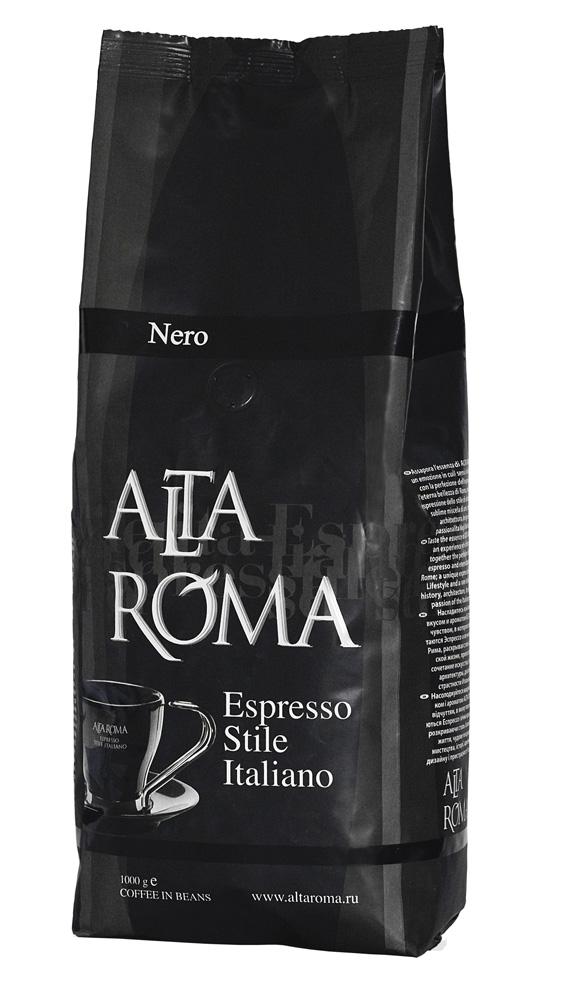 Кофе AltaRoma Nero, 1000 гр. в зернах