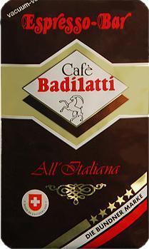 Badilatti Espresso Bar, в зернах, 500 гр