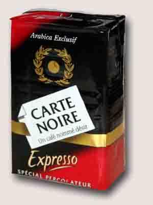 Carte Noire эспрессо