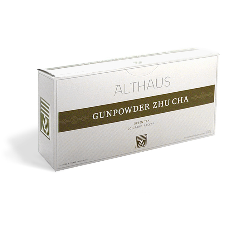 Чай Gunpowder Zhu Cha<br>Жу Ча Ружейный порох