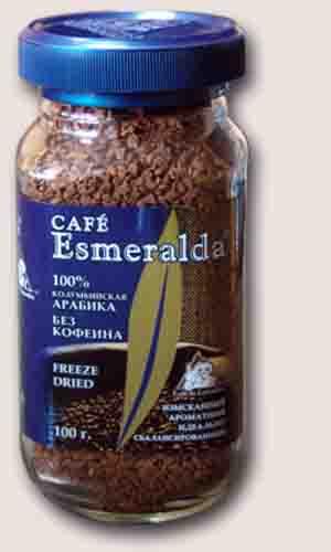 Esmeralda без кофеина